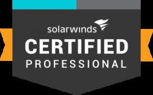 SolarWinds Certified Professional logo