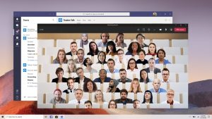 Microsoft Teams Together mode picture